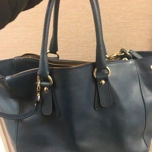 Handbags - Gundit Italian leather cross body/tote bag